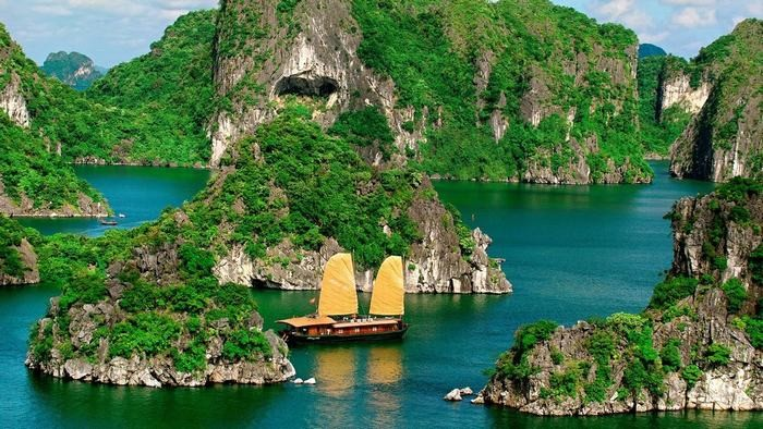 Halong Bay in summer
