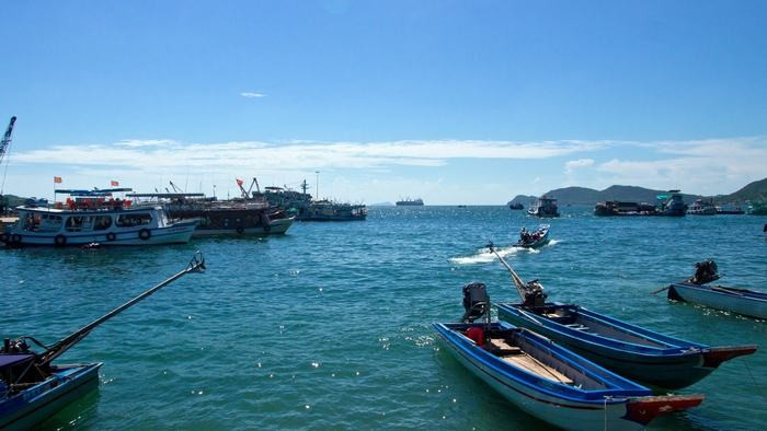 An Thoi harbor