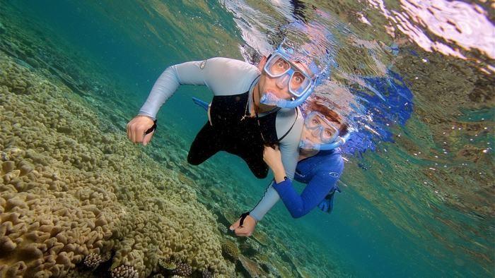 Scuba diving in Lan Ha Bay