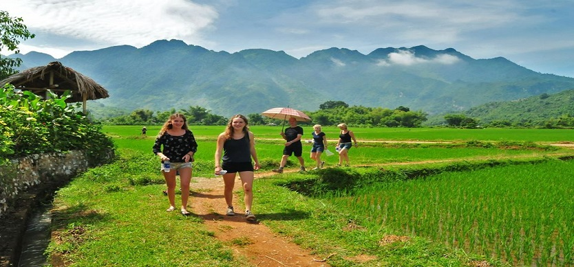 A Trekking Tour To Mai Chau In The Northwest Of Vietnam