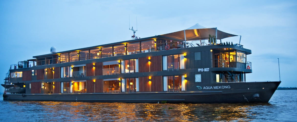 Aqua Cruise 7 nights Siem Reap - Saigon (Aug - Nov)