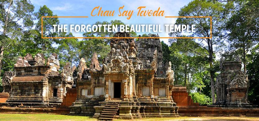 Chau Say Tevoda - the forgotten beautiful temple