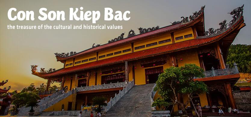 Con Son Kiep Bac - the treasure of cultural and historical values