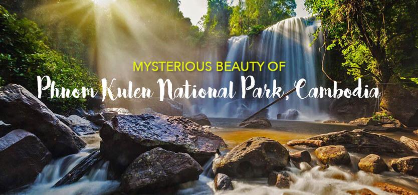 Mysterious beauty of Phnom Kulen National Park, Cambodia