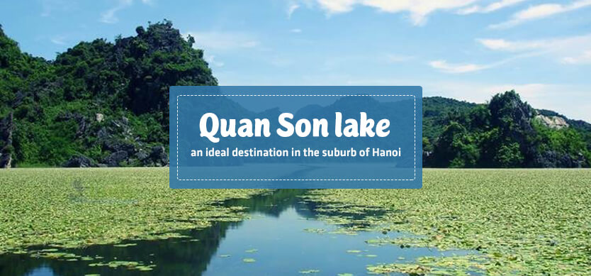 Quan Son Lake- An ideal destination in the suburb of Hanoi