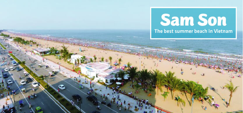 Sam Son beach - The best getaway for your summer holiday