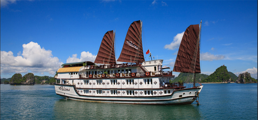 The best 4-star cruises in Halong Bay