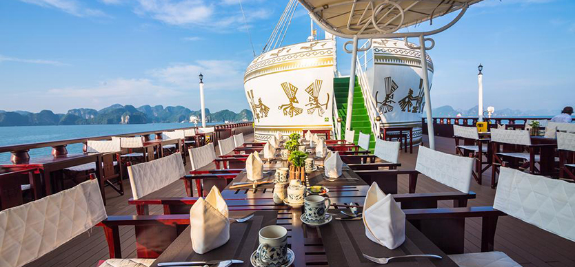 The best 5-star cruises in Halong Bay