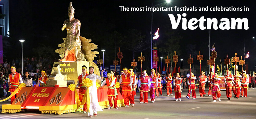 The most important festivals and celebrations in Vietnam