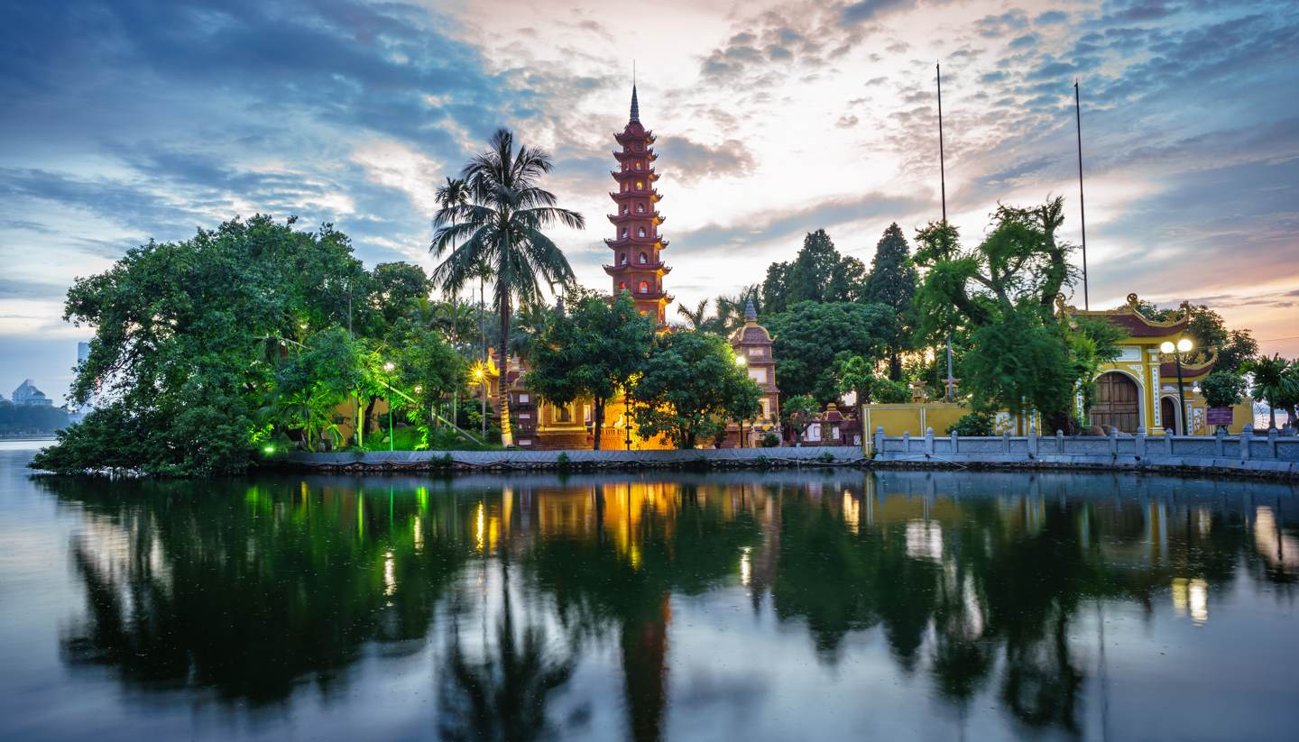The nature places surrounding Hanoi to visit in a day for the National Day