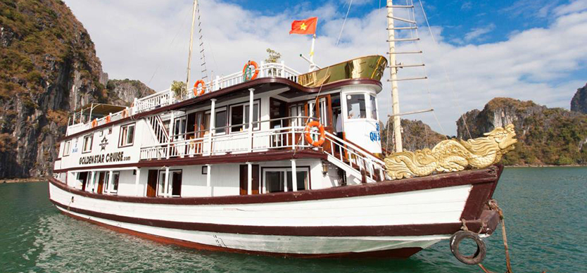 Top 4 3-star cruises in Halong bay