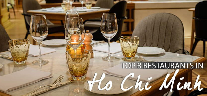 Top 8 restaurants in Ho Chi Minh City
