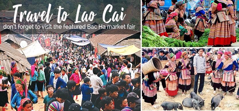 Travel to Lao Cai, don't forget to visit the featured Bac Ha market fair