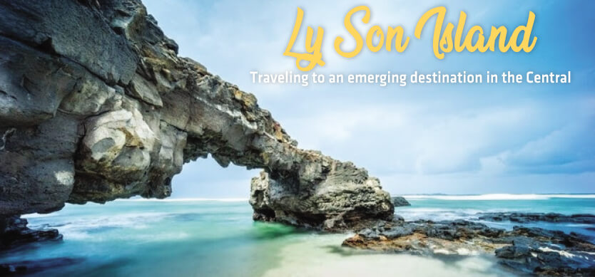 Traveling to an emerging destination in the Central - Ly Son Island