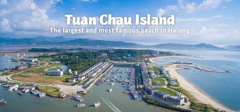 Tuan Chau Island - The largest and most beautiful beach in Halong