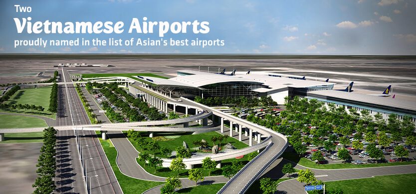 Two Vietnamese Airports Proudly Named In The List Of Asia's Best Airports