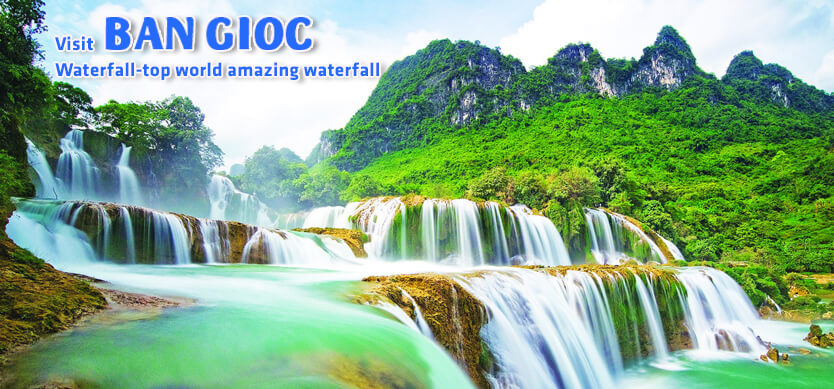Visit Ban Gioc Waterfall- Top World Amazing Waterfall