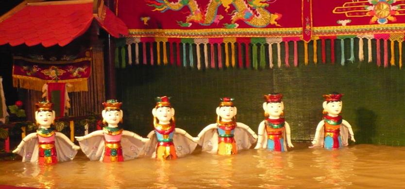 Visit Vietnam Water Puppet Theatre To Enjoy This Unique Art Form