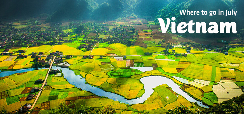 Where to go in Vietnam in July