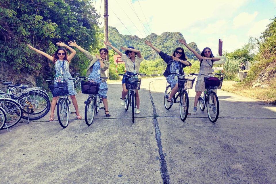 biking in Cat Ba National Park