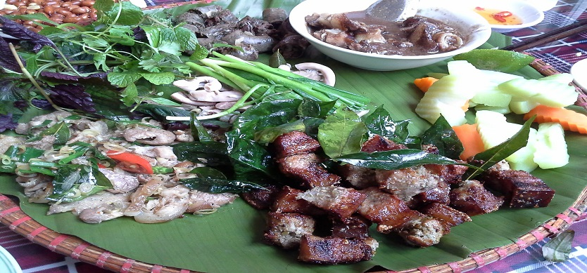 Muong pork - A must-try specialty of Thung Nai, Hoa Binh