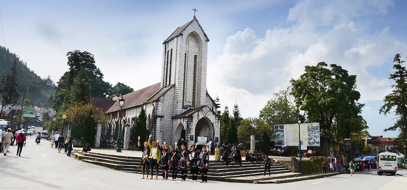 Notre Dame Cathedral-The Symbol Of The French Architecture In Sapa