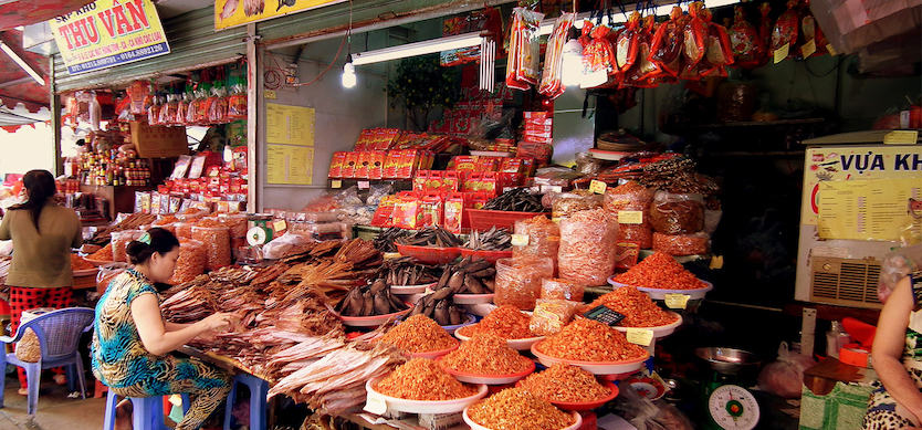 Shopping Places in Halong