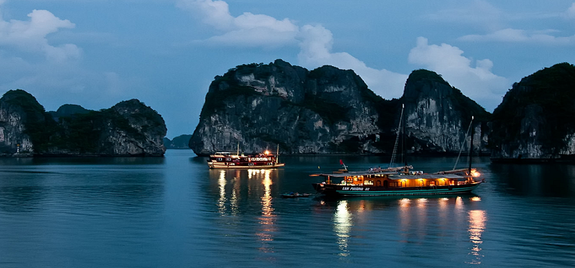Tet holiday in Halong