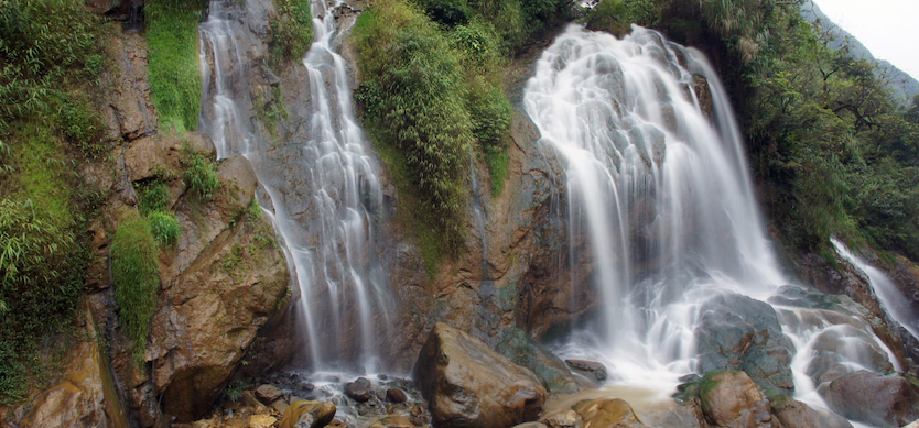 The extraordinary beauty of Tien Sa waterfall