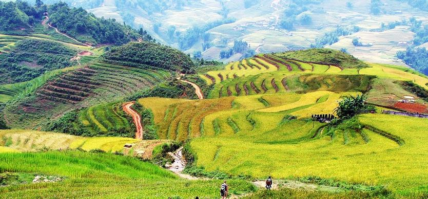 Village People in Mai Chau