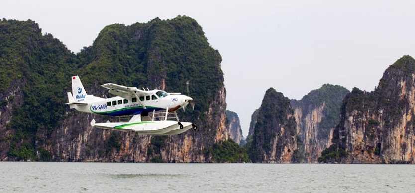 vi-What makes seaplanes in Halong Bay special?