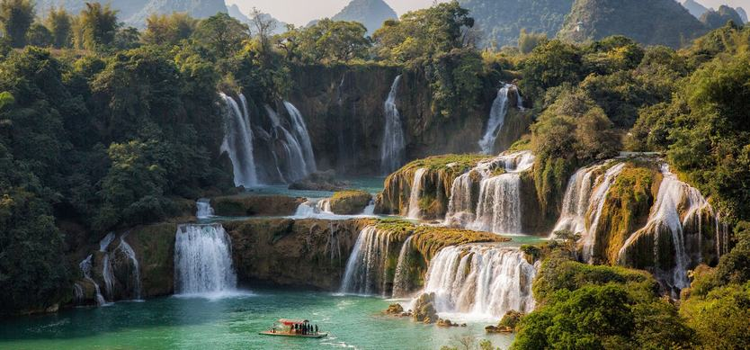 Ban Gioc Waterfall -The most famous waterfall in Vietnam