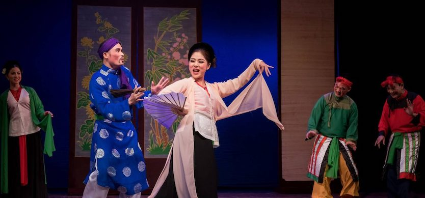 Cheo – the most popular form of traditional theater in Vietnam