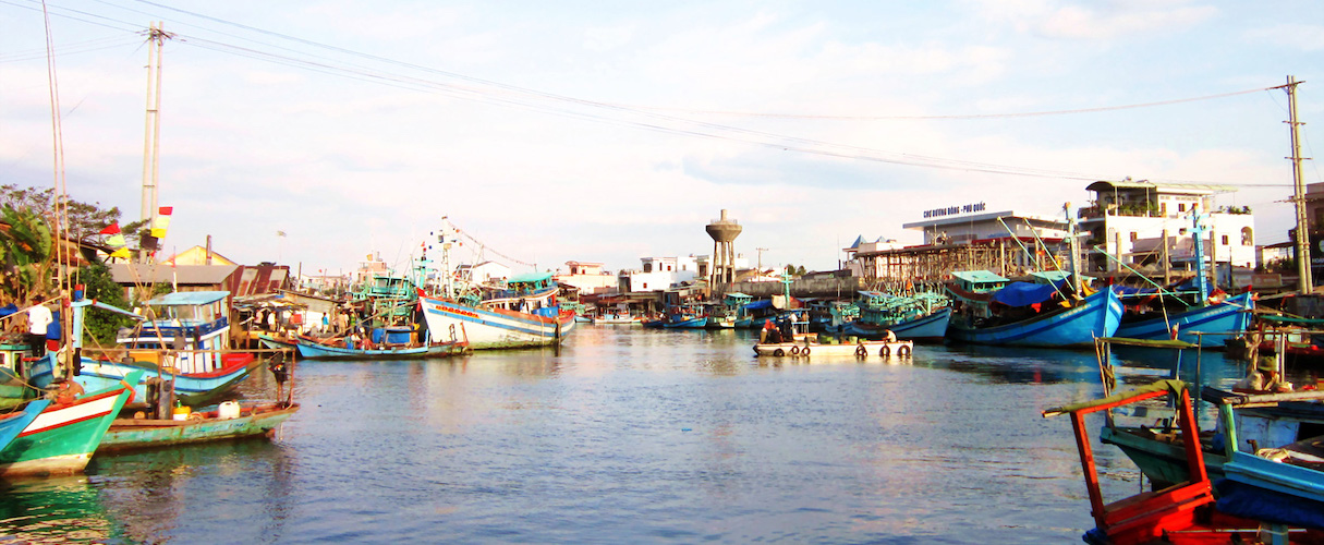 Duong Dong Harbor