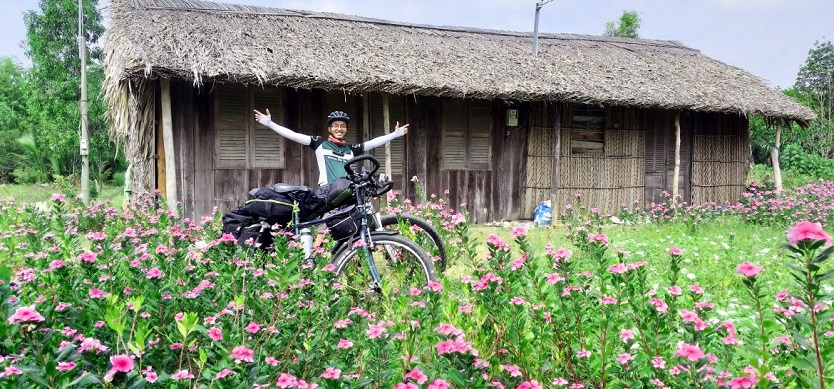 ​Enjoying Bicycle Tour In Mekong Islands