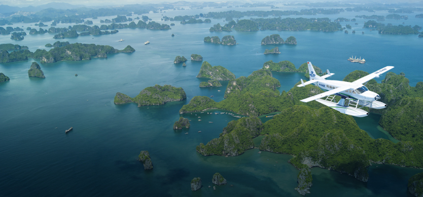 Explore Halong Bay by Seaplanes