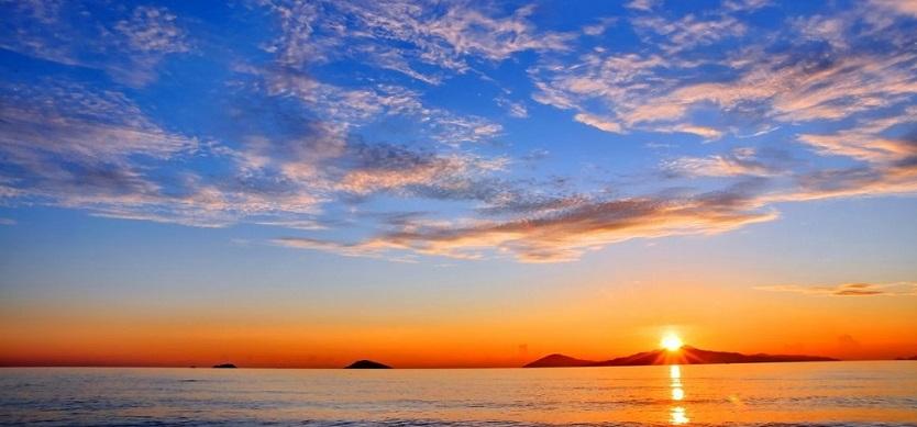 I love Sunset on Phu Quoc island