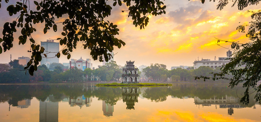 Top points of interest in Hanoi Vietnam