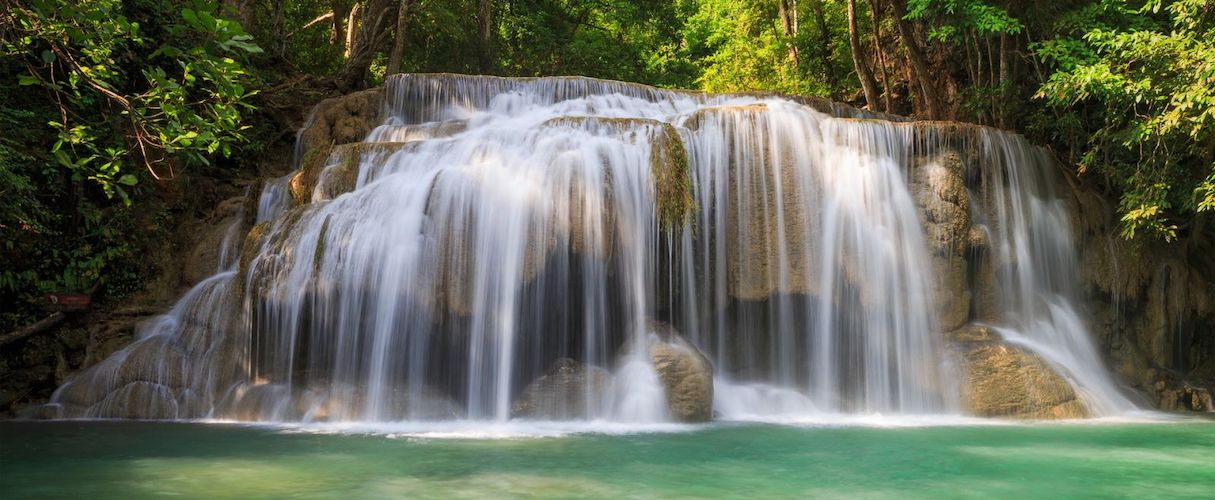 Tranh Stream Waterfall