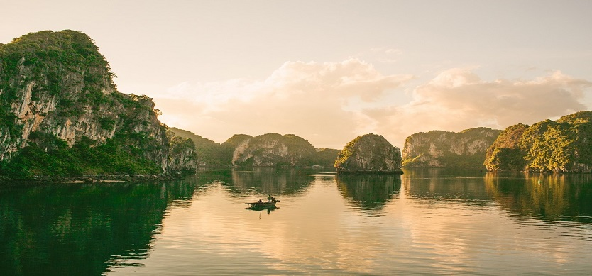 Halong Bay - One of the new seven natural wonders of the world