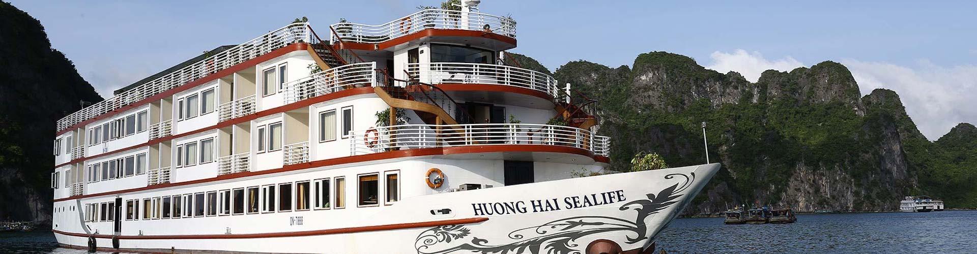 Fr-Huong Hai Sealife Cruise