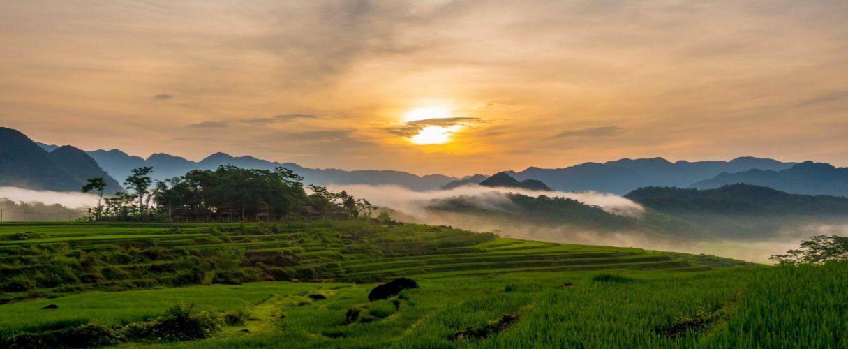 Combo Mai Chau - Pu Luong - Halong 3 days