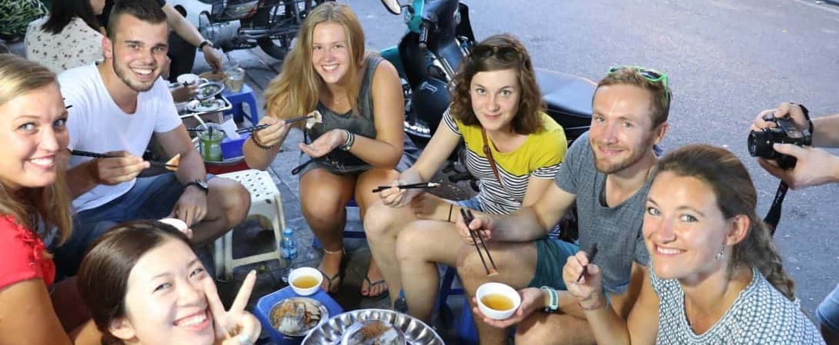 Hanoi private food tour