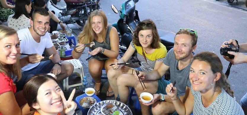 Hanoi Street Food Experience With Authentic Food Request