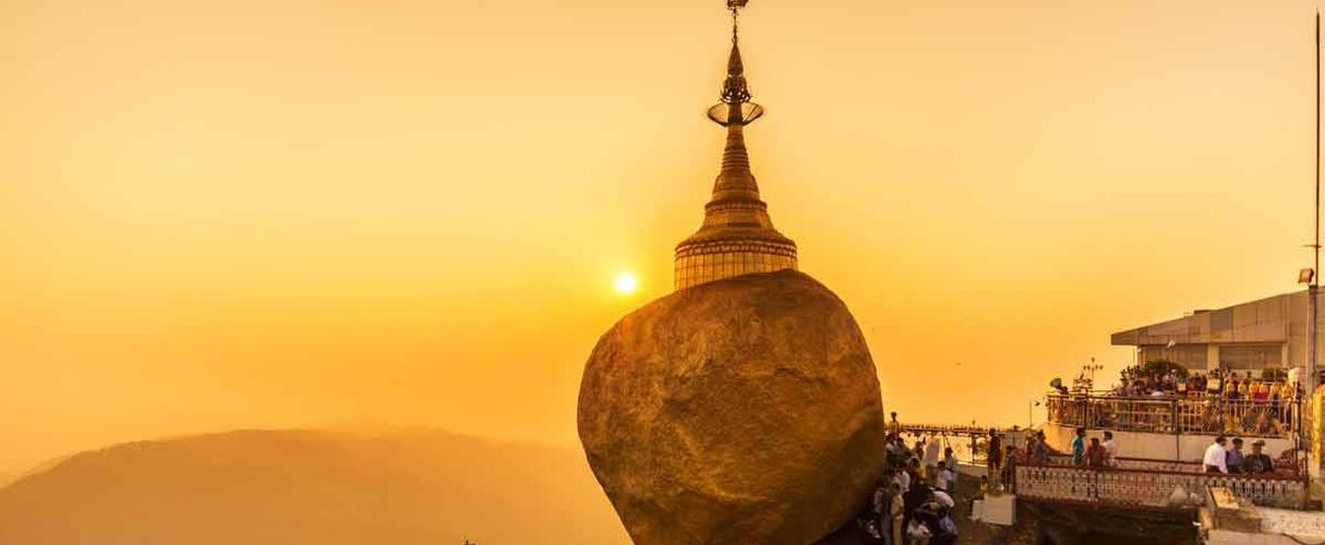Yangon - Golden Rock Pagoda - Hpa An - Kalaw - Pindaya - Inle Lake 9 days