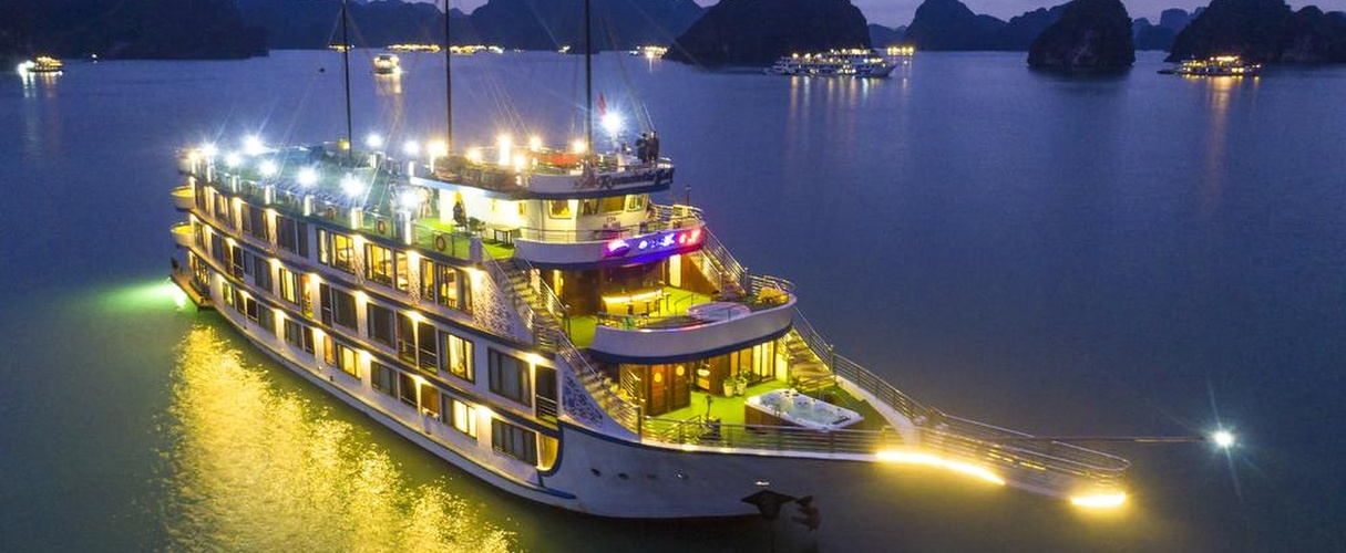 Fr-Oasis Bay Party Cruise 2 days/ 1 night