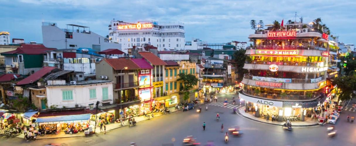 A glance of Hanoi