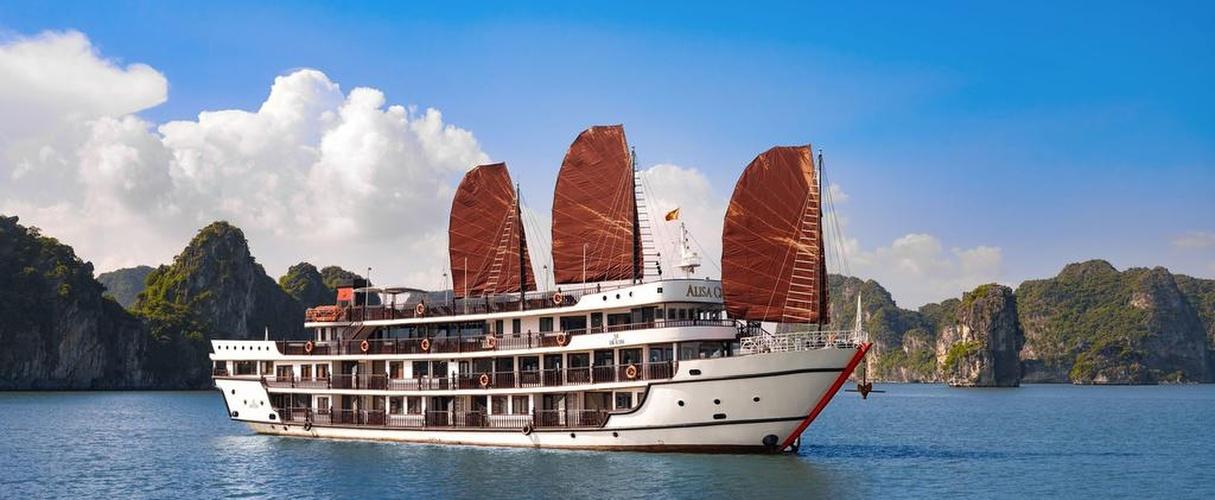 Du thuyền Alisa Premier 2 ngày 1 đêm