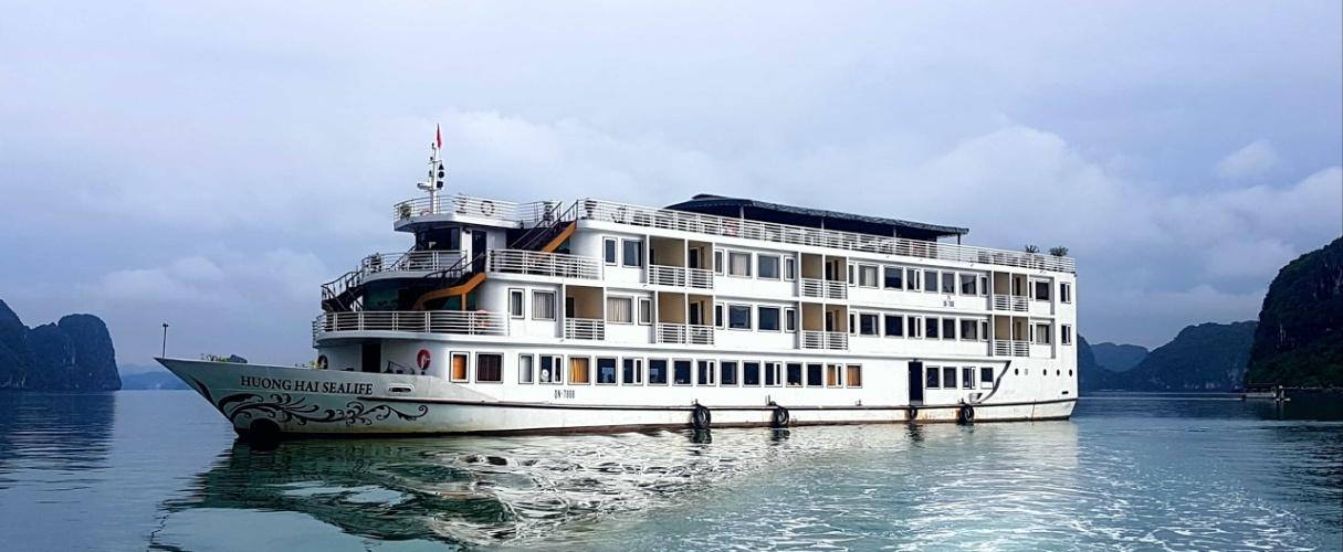 Fr-Huong Hai Sealife Cruise 3 days/ 2 nights