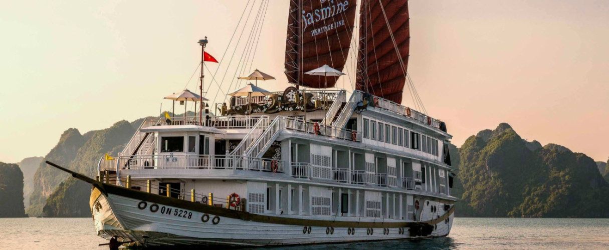 Heritage Line Jasmine Cruise 3 days/ 2 nights